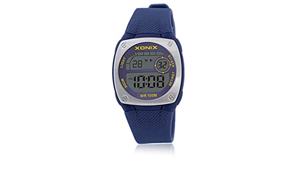 Reloj digital chico chica reloj multifunción luminosa cronómetro de alarma  a prueba de agua natación led-F  Amazon.es  Relojes ae3afa586eaa