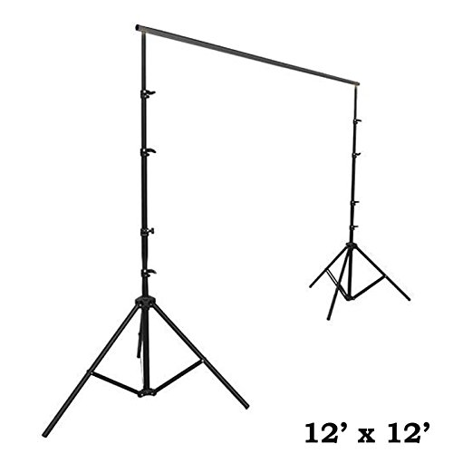 36' Wide Pedestal - Efavormart 12ft x12ft Heavy Duty Pipe and Drape Kit Wedding Photography Backdrop Stand