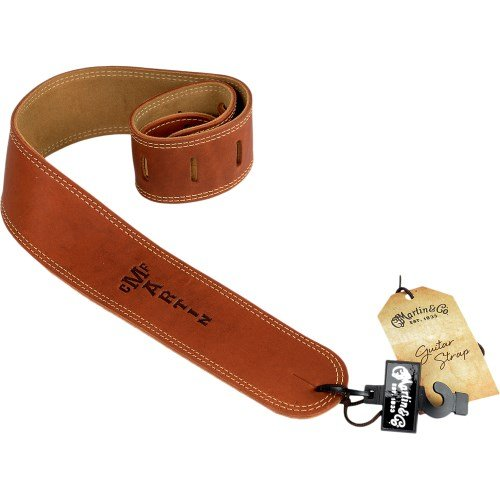 Martin Baseball Glove Leather Guitar Strap