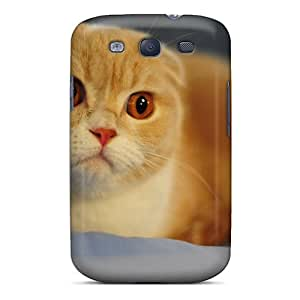 RomeoJr Galaxy S3 Hybrid Tpu Case Cover Silicon Bumper Without Ears