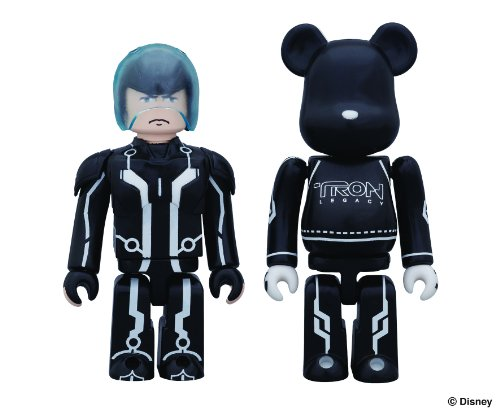 Tron Legacy: Sam Kubrick and Sam's Lightcycle Bearbrick 2 Pack
