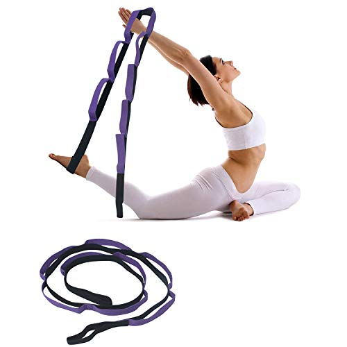 FITSY® 8 Loops Stretching Strap for Yoga, Pilates, Exercise, Physical Therapy Home Fitness Price & Reviews