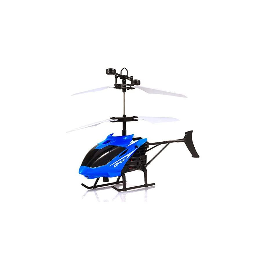 Sympath Flying Mini RC Infraed Induction Helicopter Aircraft Flashing Light Toys For Kid