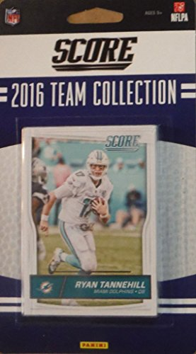 (Miami Dolphins 2016 Score EXCLUSIVE Factory Sealed Team Set with Ryan Tannehill, Cameron Wake, Ndamukong Suh, 5 Rookie Cards plus)