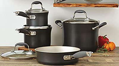 Anolon Advanced Pewter 11 Piece Cookware Set