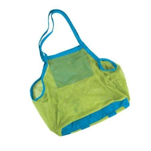 a-goo grande mesh Tote bag clothes Toys Carry all Sand away Beach bag 45,7 x 30,5 x 45,7 cm