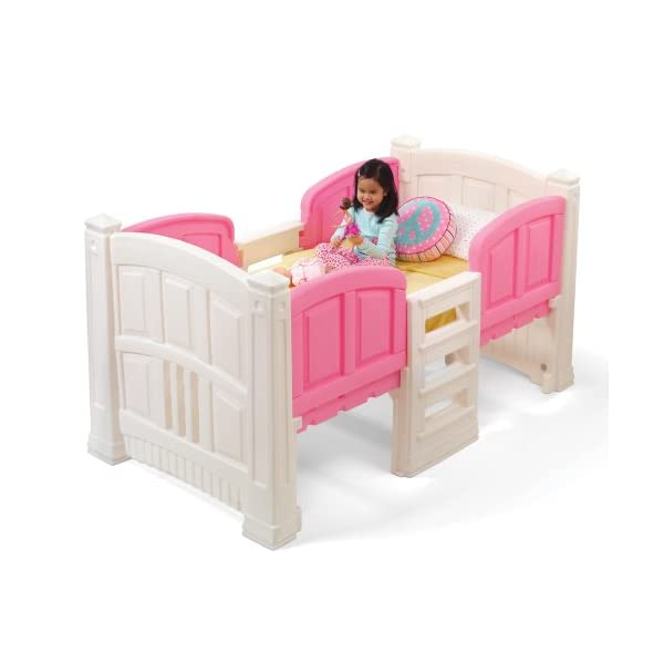 Step2 Girl's Loft and Storage Twin Bed 1