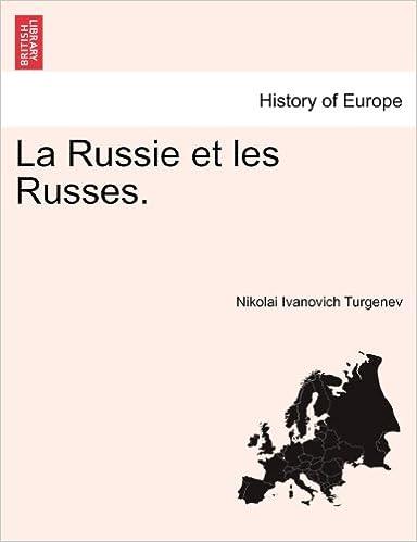 Book La Russie et les Russes. TOME III