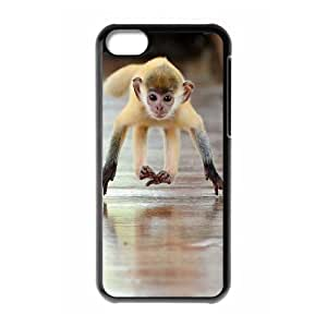 D-PAFD Print Monkey Pattern PC Hard Case for iPhone 5C