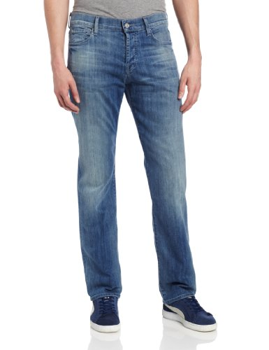 All Mankind Standard Straight Leg Washed