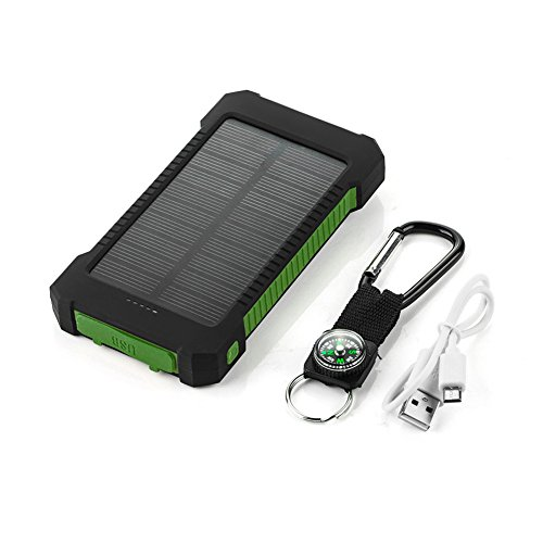 Mini 6V 1W Solar Power Panel Solar System DIY For Battery Cell Phone Chargers Portable Solar Panel (green)