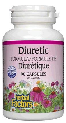 Natural Factors Urinary Flow (Diuretic) Capsules, 90-Count ( Multi-Pack)