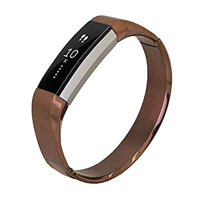 Fitbit Alta Bracelet Band, No1seller Premium Stainless Steel Bracelet Watch Band Strap for Fitbit Alta Fitness Tracker(Wrist size 5.8-7.1 inch)
