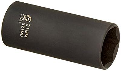 Sunex 321md 3/8-Inch Drive 21-Mm Deep Impact Socket