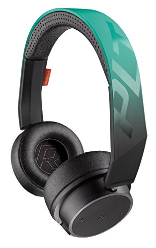 Plantronics BackBeat FIT 500 On-Ear Sport Headphones, Wireless Headphones with Sweat-Resistant Nano-Coating Technology by P2i, Teal