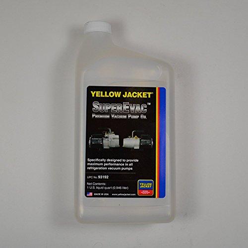 Yellow Jacket 93192 SuperEvac Vacuum Pump Oil - Quart