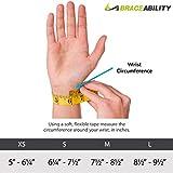 BraceAbility Thumb & Wrist Spica Splint   De