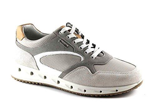 Gore Sneakers 77161 Pelle Scarpe amp;co Uomo Perla Lacci tex Beige Igi 1xwzq5p