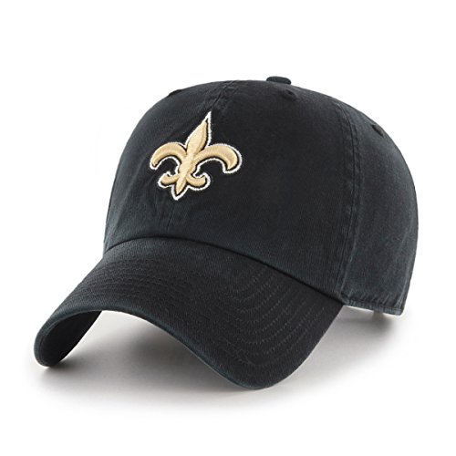 NFL New Orleans Saints Women's OTS Challenger Adjustable Hat, Black