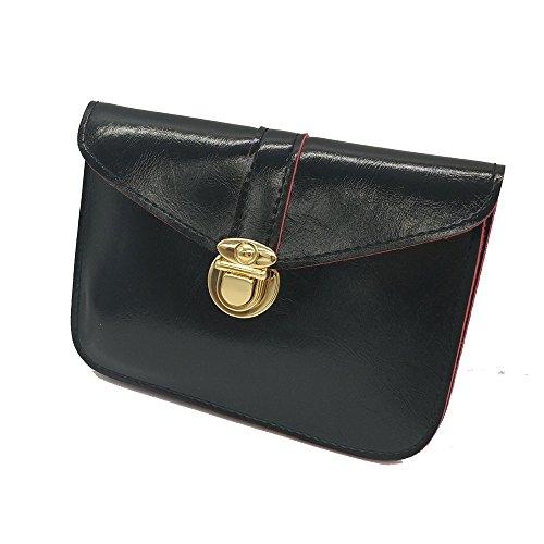 Girl Body Black Bags Messenger Mini Handbag Design Bags Women Retro Cross Ladies P0wnznxq