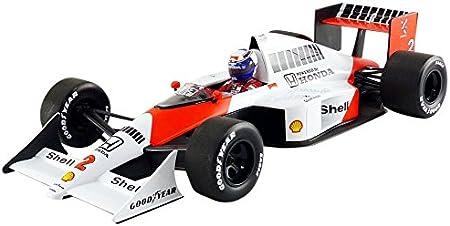 Minichamps–Miniatura de Coche McLaren MP4/5World Champion 1989(Escala 1/18, 530891802, Rojo/Blanco
