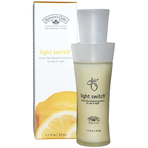Light Switch Brightening Serum (Best Nature's Gate, Light Switch, Lemon Skin Brightening Serum For Day & Night, 1.1 fl oz (32 ml), Sundesa, Classic Blender Bottle with Loop, Orange, 28 oz)