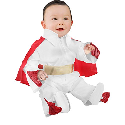 Unique Infant Baby Elvis Costume, 12-18 -