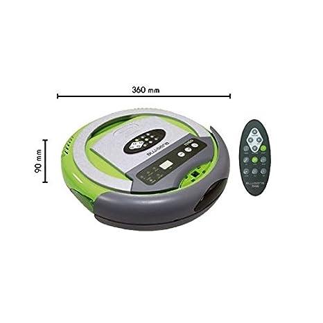 Blusens TD100 0.3L Verde, Gris aspiradora robotizada - Aspiradoras robotizadas (Verde, Gris