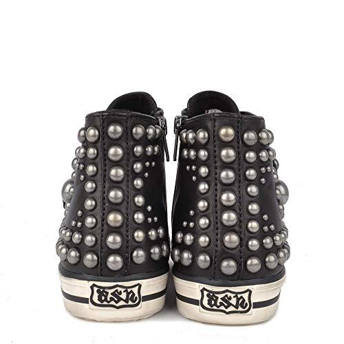 Sneakers Vito Nere Ash Nero Con Borchie In Pelle Footwear qEO5vwB
