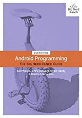 Android Programming: The Big Nerd Ranch Guide is an introductory Android book for programmers with Java experience.   Based on Big Nerd Ranch's popular Android Bootcamp course, this guide will lead you through the wilderness using hands-on e...