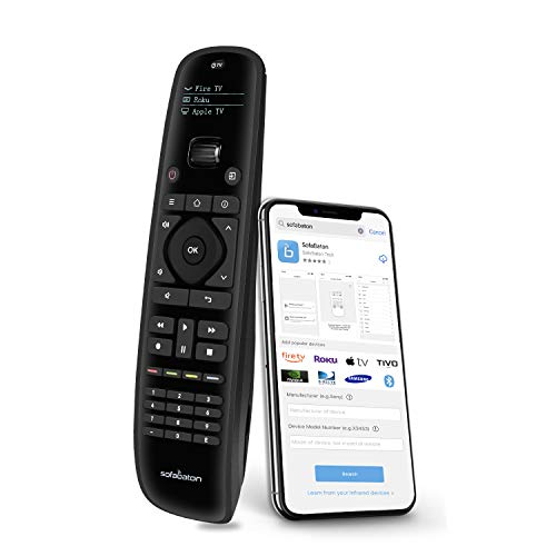 Sofabaton U1 Universal Remote Control, Harmony Remote with Smart APP, OLED Display and Multi-Command Macro Button…