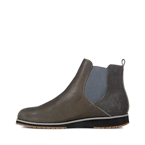 Botas Casual Mujer Emu Australia Taria Cow Suede Charcoal