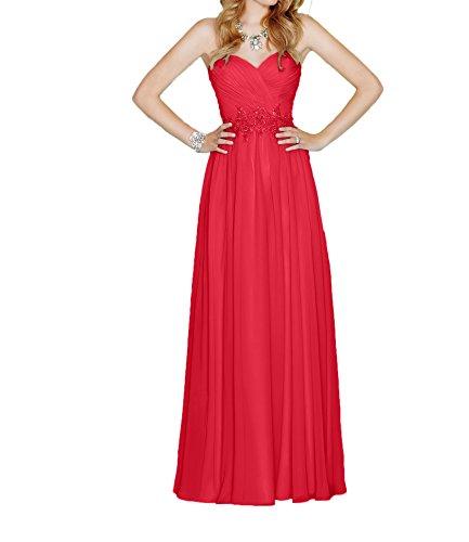 La Partykleider Festlichkleider Braut Hell Rot 2017 Abendkleider Marie Blau Bodenlang Herzausschnitt Ballkleider SSfanqvWrA
