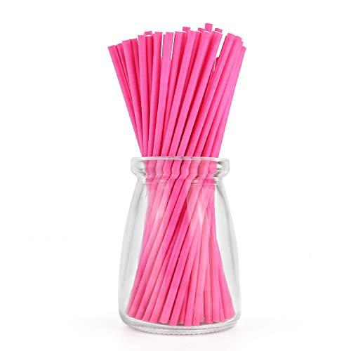 Paper Lollipop Sucker Sticks for Cake Pops
