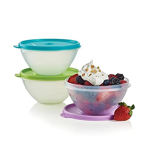 New Tupperware Wonderlier Bowl Set 3 in (Small)