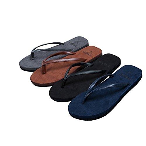 Weiyin Unisex Slippers Beach Sandalen Grijs
