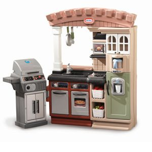 Amazon.com: Little Tikes Sizzle & Serve Kitchen: Home ...