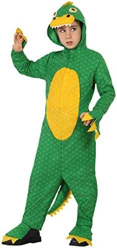 Atosa-23918 Dragón Disfraz Dinosaurio, color verde, 10 a 12 años ...
