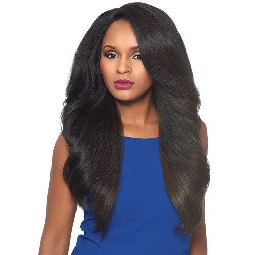 (Outre Synthetic L-Part Lace Front Wig NEESHA Color #1 Jet)