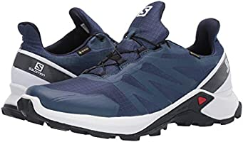 Salomon Men's Supercross GTX Trail Running Shoes, Sargasso