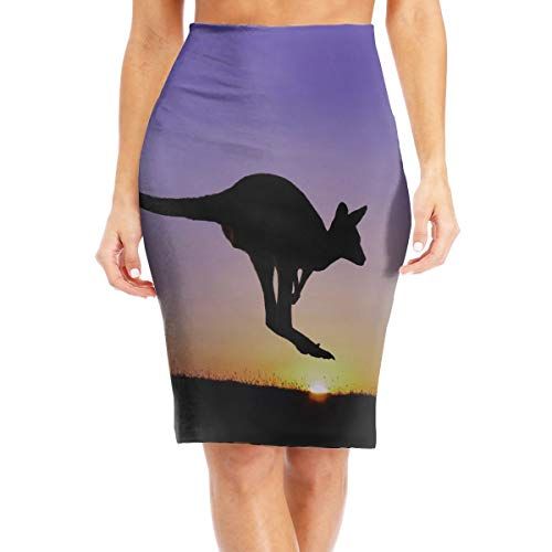 Jumping Kangaroos Womenâ€TMs Pencil Skirt Below The for sale  Delivered anywhere in USA