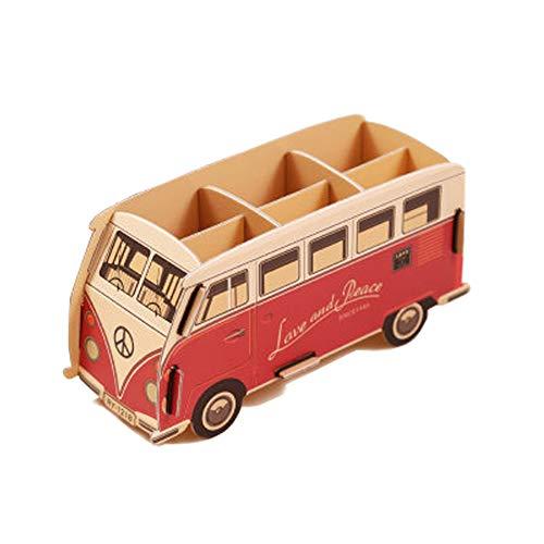 (MineDecor Cute Pencil Holder Pen Holder Cup Stationary Organizer Box Cartoon Office Supplies Organizer Desk Accessories for Kids Boys Girls DIY Gift Office Home)