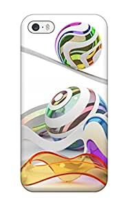 Iphone Anti Scratch Case Cover Protective 3d Color Figures Case For Iphone 5/5s