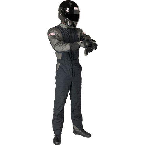Black, Large G-Force Mens Multi Layer Suit