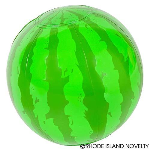 Rhode Island Novelty 6 Mini Watermelon Beach Balls | 12 Pack |