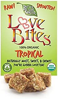 product image for Blue Mountain Organics - The Raw Bakery - Organic Tropical Love Bites - 1 Case of 6 (24 oz.)