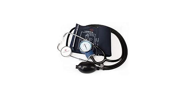 LOGIKO-Tensiómetro de aneroide con fonendo: Amazon.es: Salud y cuidado personal