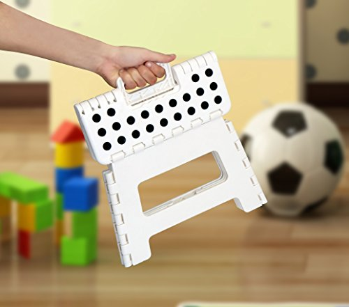 Folding Step Stool For Kids 11 Quot Wide 9 Quot Tall Plastic