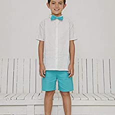 NICOLAS MX- Set of linen for children (bermuda, guayabera and bun)