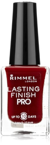 Rimmel Lasting Finish Pro Nail Enamel Burgundy Flirt (Finish Burgundy)